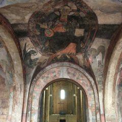 Cardona inaugura la restitució de les pintures de Sant Vicenç i presenta el 'making off' produït per E2S